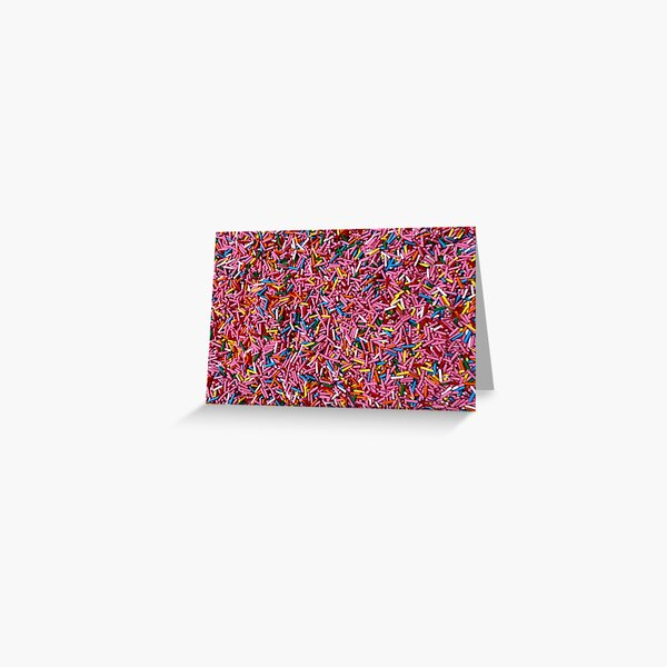 Museum of Ice Cream Sprinkles Photograph Greeting Card