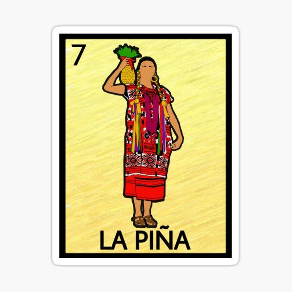 La Piña Sticker