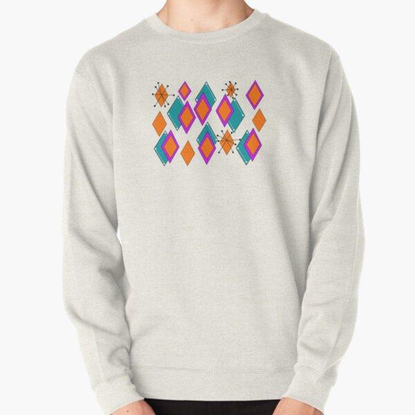 Mid Mod Diamonds Pullover Sweatshirt