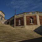 steps at via della Dataria Rome by rgmf