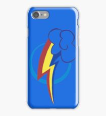 Rainbow Dash's Cutie mark iPhone Case/Skin