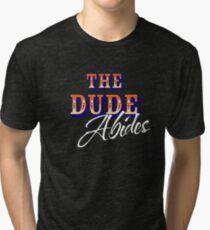 The Big Lebowski - The Dude Abides Tri-blend T-Shirt