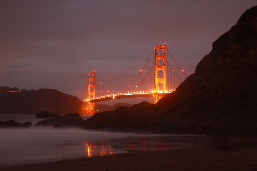 Blazin Golden Gate by nickseils