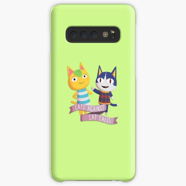 Animal Crossing Cats Against Cat Calls Samsung Galaxy Snap Case