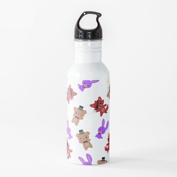 Cute Fnaf Pattern Water Bottle