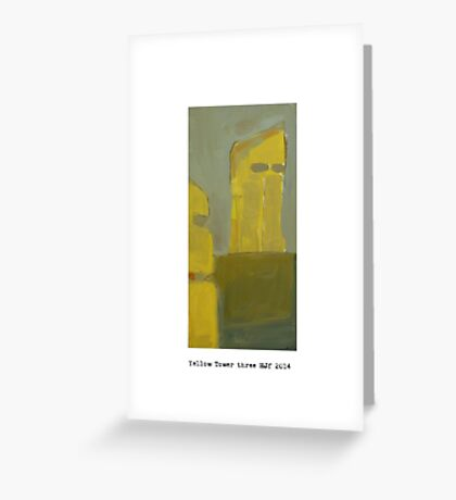 yellow tower 3  Greeting Card