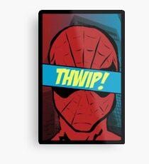 Spidey Thwip! Metal Print