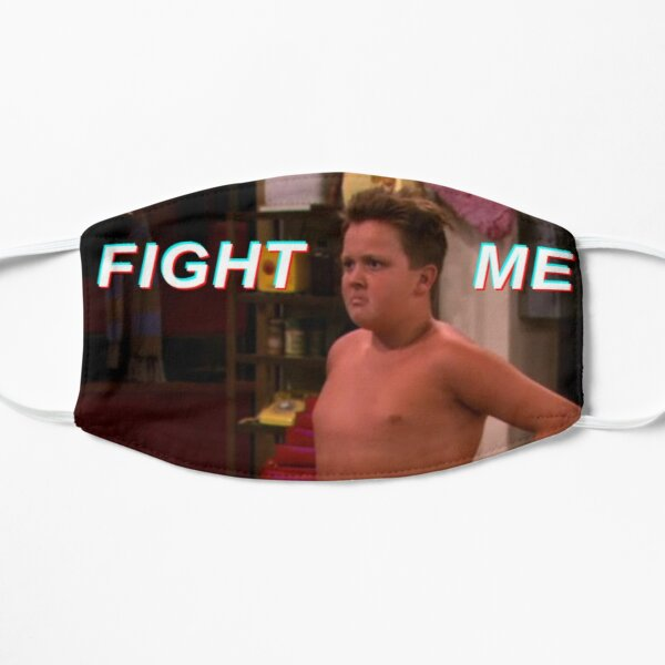 Gibby wants to Fight - iCarly Flat Mask