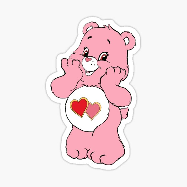 love-a-lot bear Sticker