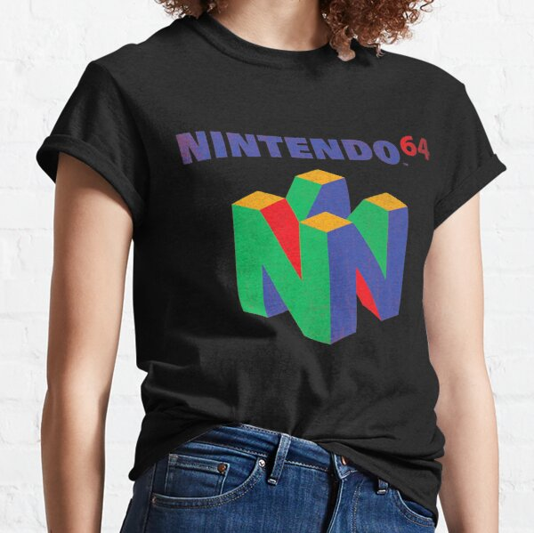 N 64 Classic Logo Vintage T Shirt Gift For Fans, For Men And Women, Gift Halloween, Thanksgiving, Christmas Day Classic T-Shirt