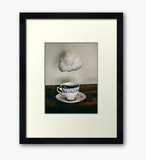 storm in a teacup no. 2 Framed Print