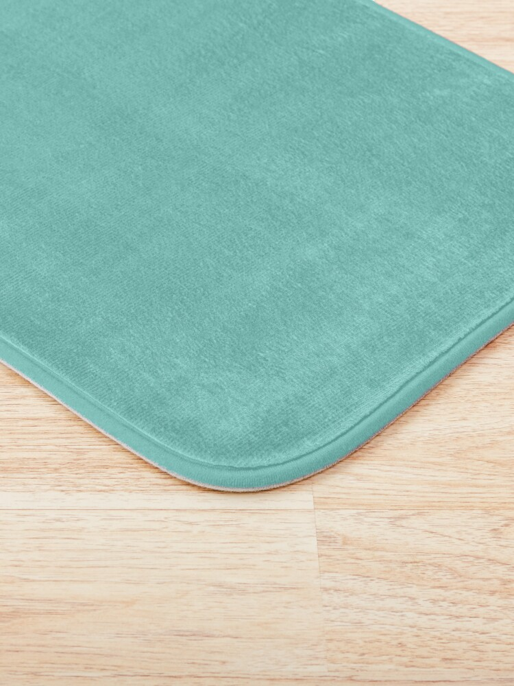 Alternate view of TIFFANY blue color  Bath Mat