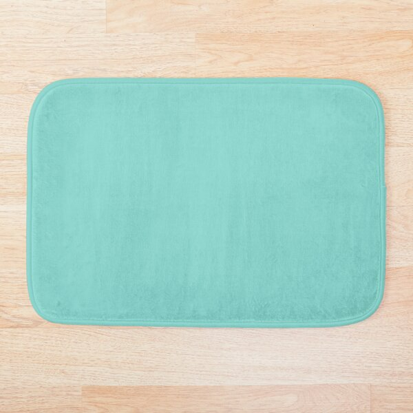 TIFFANY blue color  Bath Mat