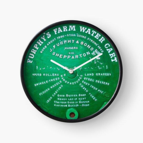 Tellin' a Furphy Clock