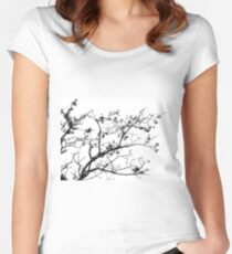 Bare tree Women's Fitted Scoop T-Shirt