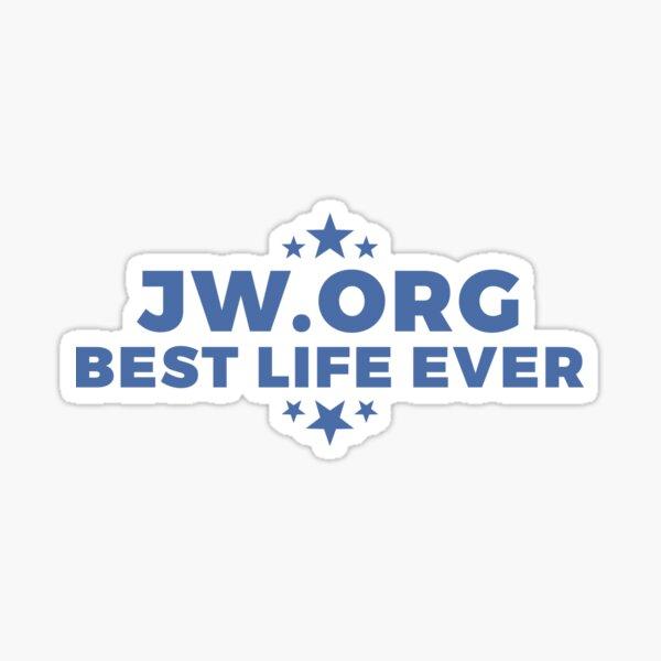 JW.org - La mejor vida de todos - Testigos de Jehová | Estrellas Pegatina