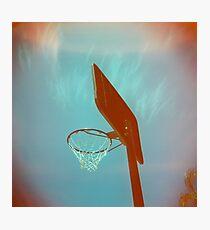 Basketball Ring Photographic Print