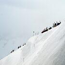 Snow ridge  by geophotographic