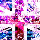 old circuit board United Kingdom (flag) by sebmcnulty