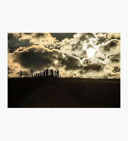 Sunrise on the Farm  Photographic Print