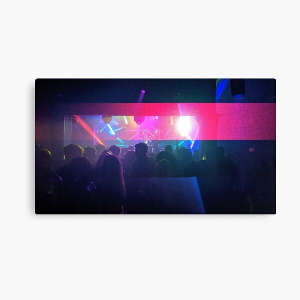 Nightclub Lights Canvas Print