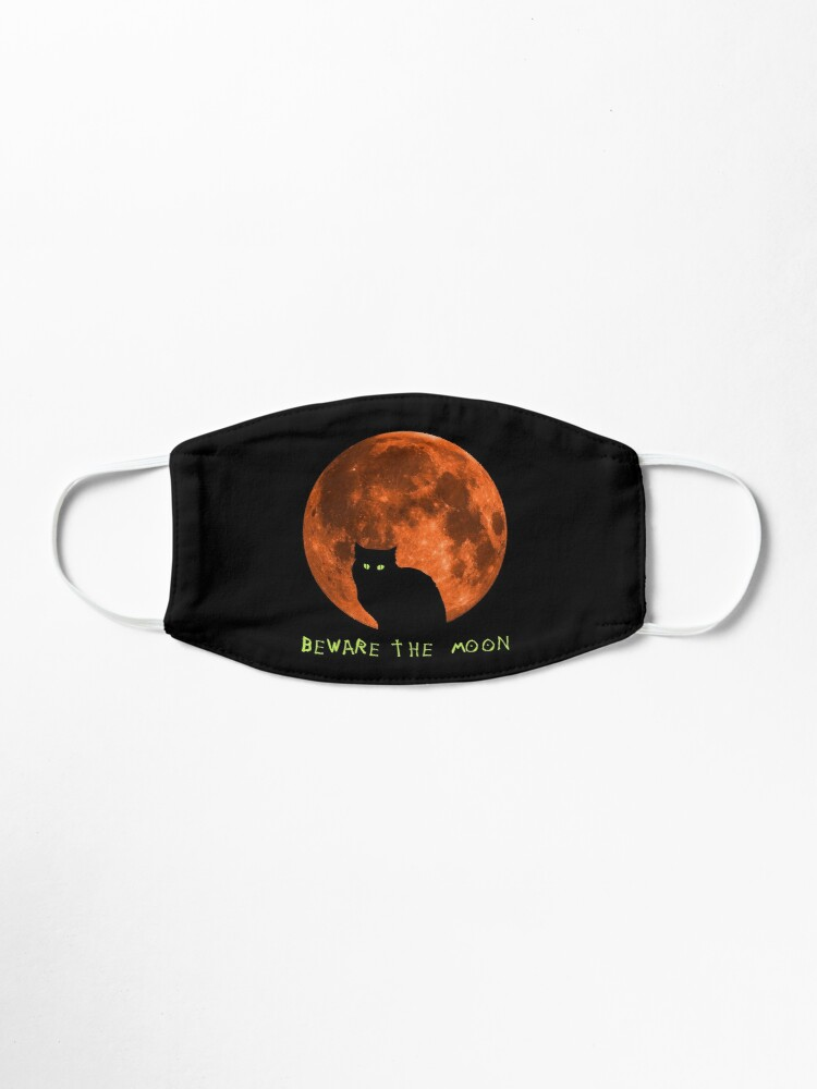 Alternate view of Black Cat | Beware The Moon | Halloween Mask
