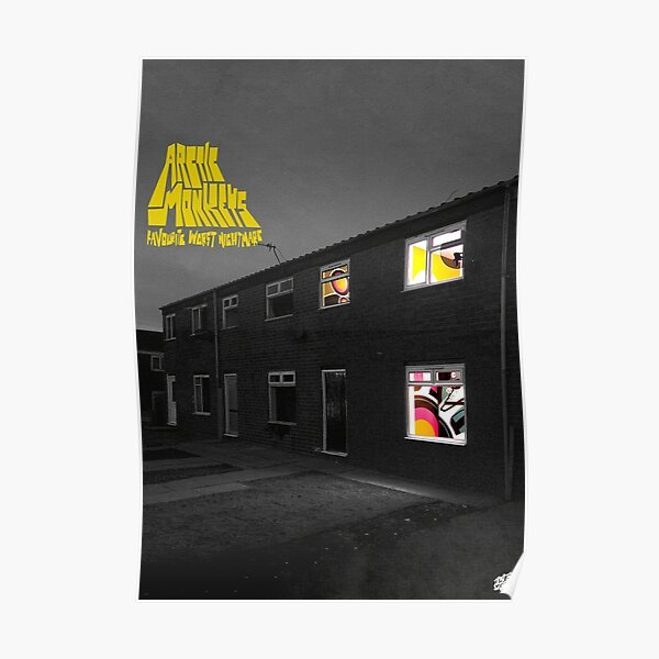 """Favourite Worst Nightmare"" Album poster Poster"