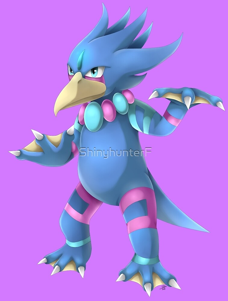 FANMADE Mega Golduck by ShinyhunterF