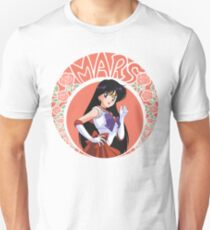 Sailor Mars - Circle Tee Unisex T-Shirt