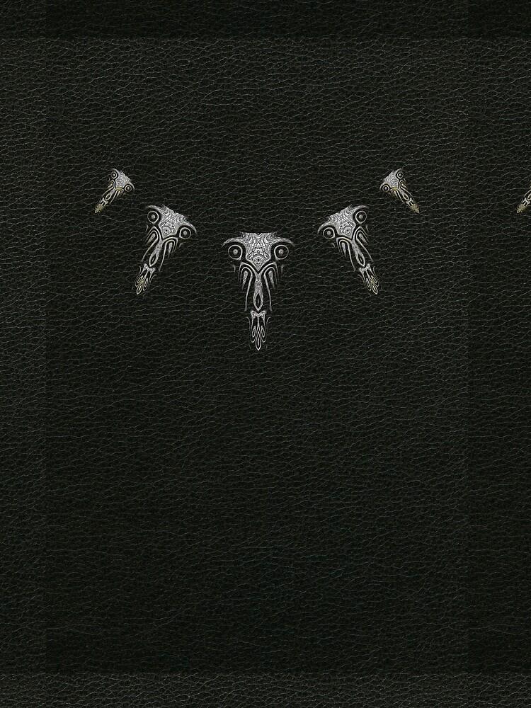 Wakanda Forever (Silver) by vkdezine