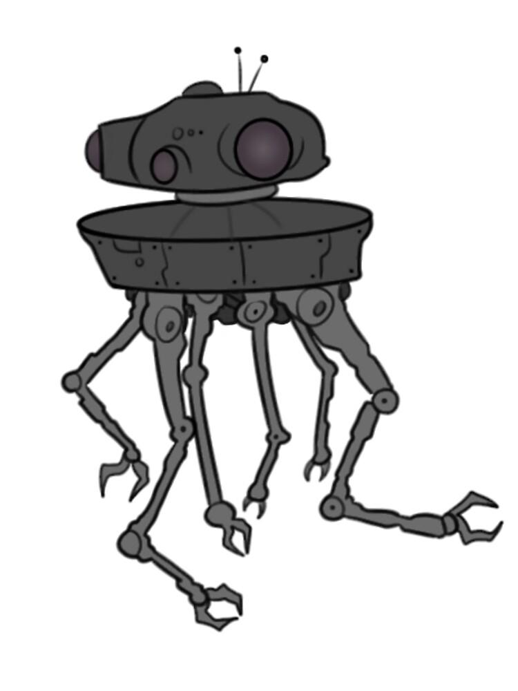 STARWARS - EMPIRE STRIKES BACK ROBOT by Eddy Voice