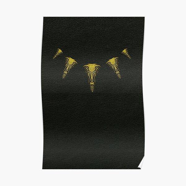 Wakanda Forever (Gold) Poster