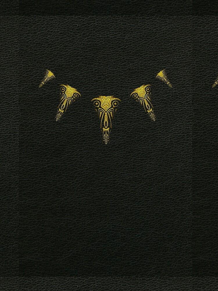 Wakanda Forever (Gold) by vkdezine