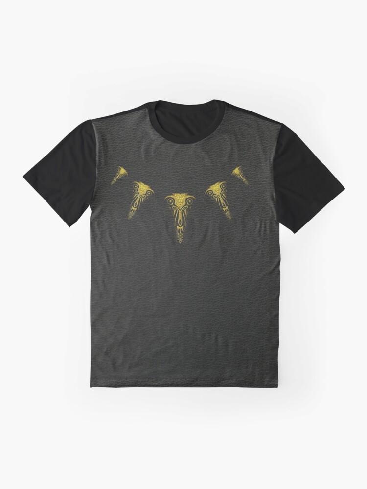 Alternate view of Wakanda Forever (Gold) Graphic T-Shirt