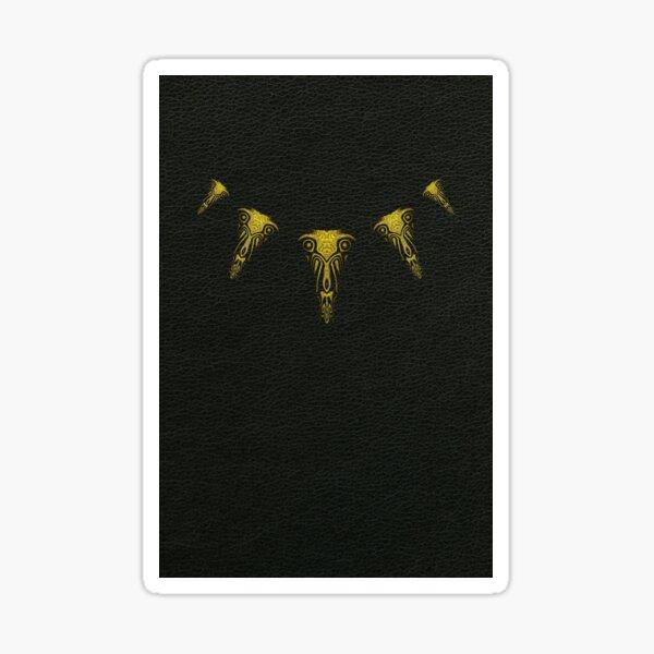 Wakanda Forever (Gold) Sticker
