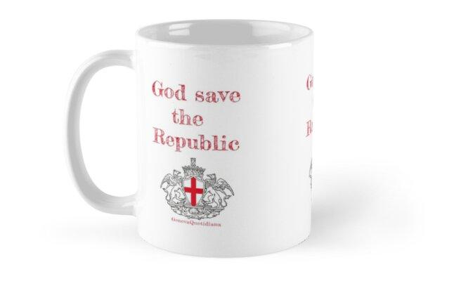 Gode save the Republic Mug by Genova Quotidiana