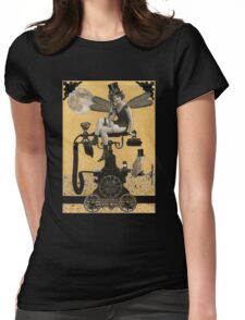 Telephone Fairy Womens Fitted T-Shirt