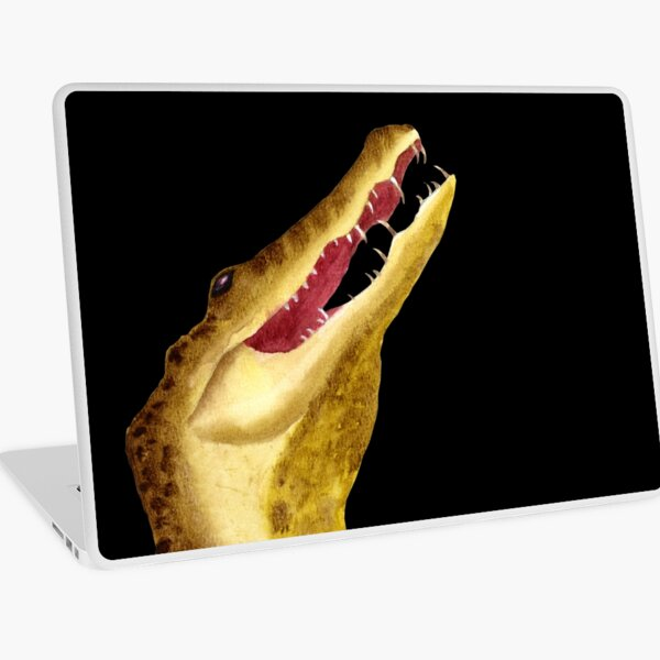 Nile Crocodile Laptop Skin