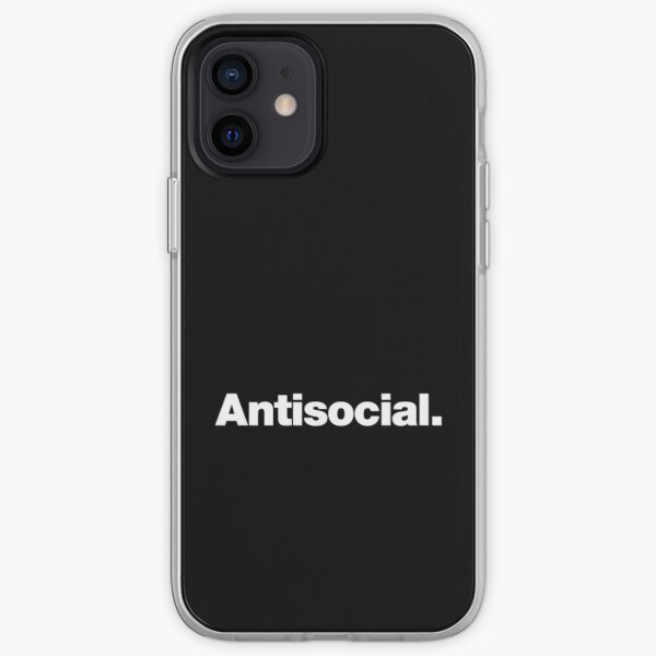 Antisocial iPhone Soft Case