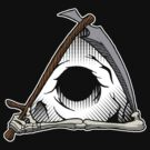 Grim all seeing eye by Psychobilly-Tee