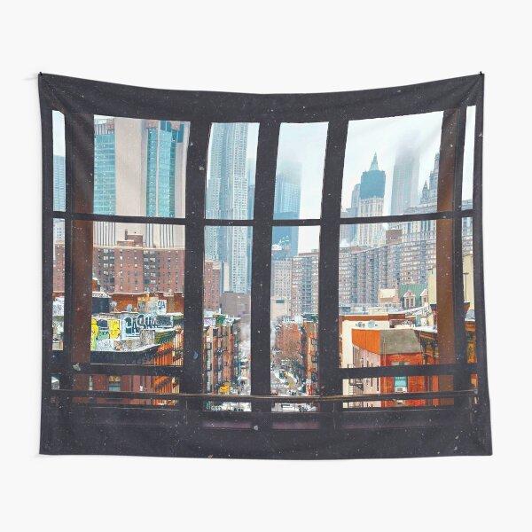 New York City Window Tapestry