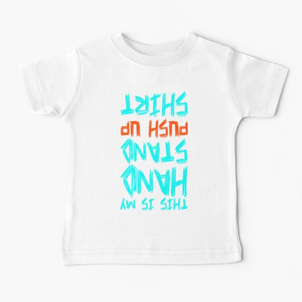 Chemise push up à la main T-shirt bébé