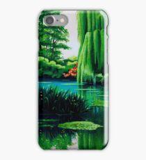 Breathtaking swamp iPhone Case/Skin