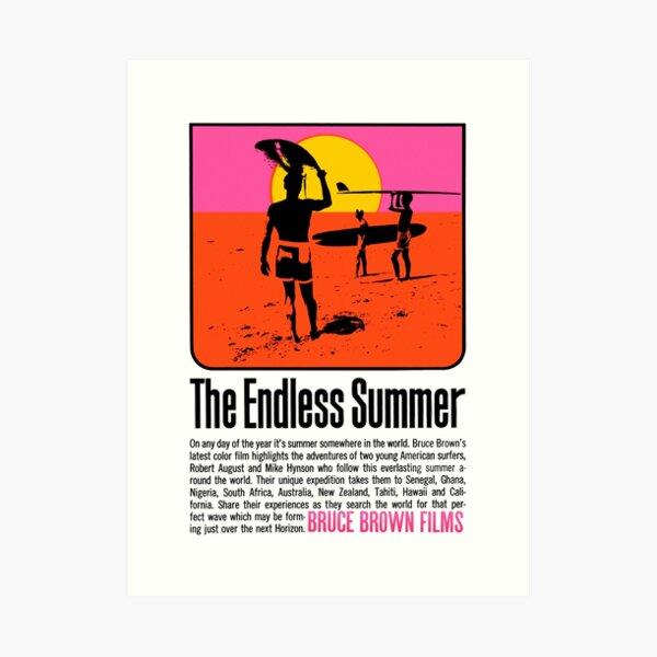The Endless Summer (1966) Art Print