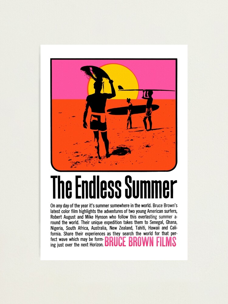 Alternate view of The Endless Summer (1966) Photographic Print