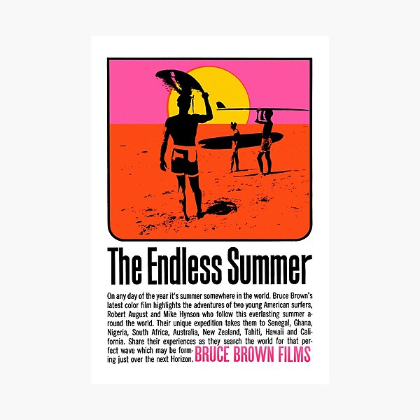 The Endless Summer (1966) Photographic Print