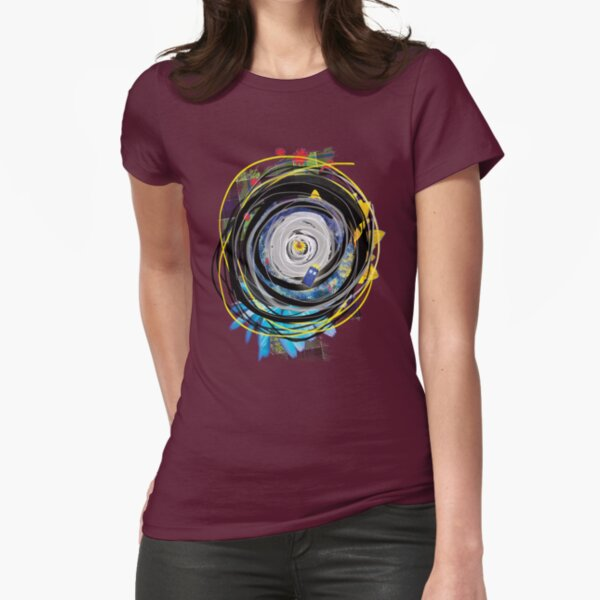 JNT Hawaiian Time Vortex Fitted T-Shirt