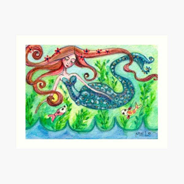 Underwater Star  Art Print