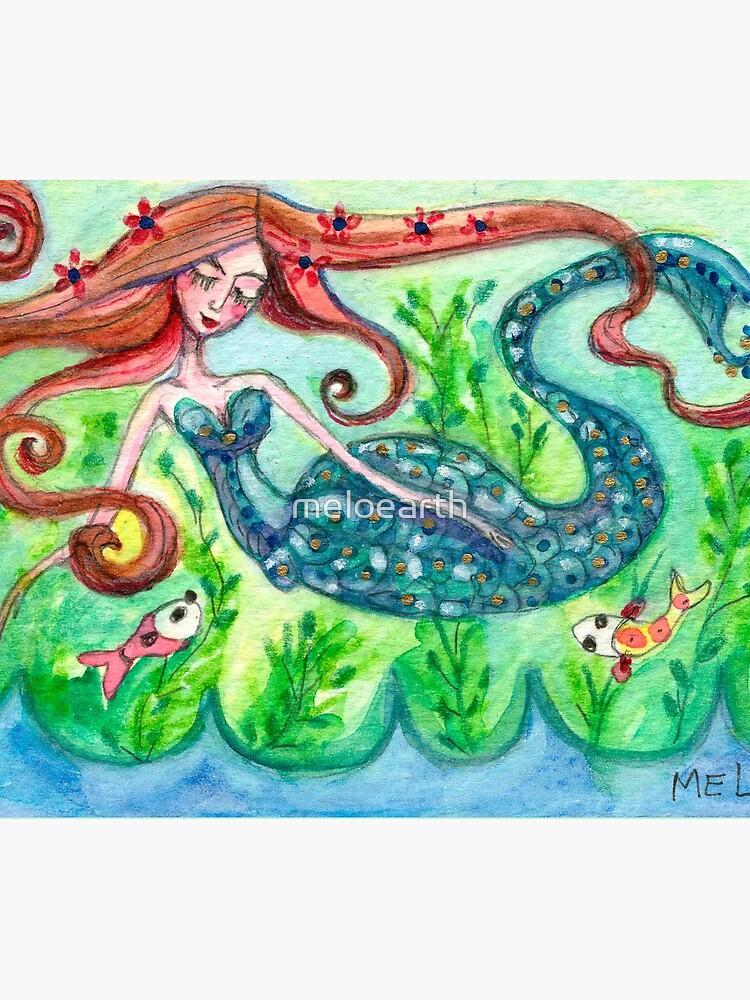 Underwater Star  by meloearth