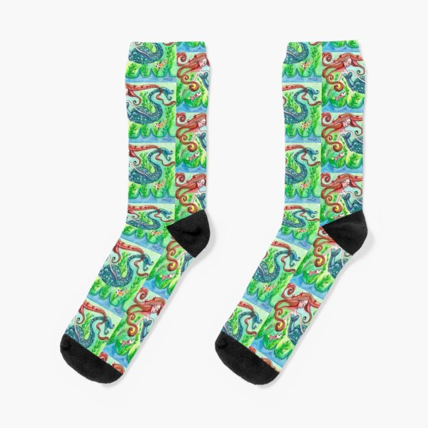 Underwater Star  Socks